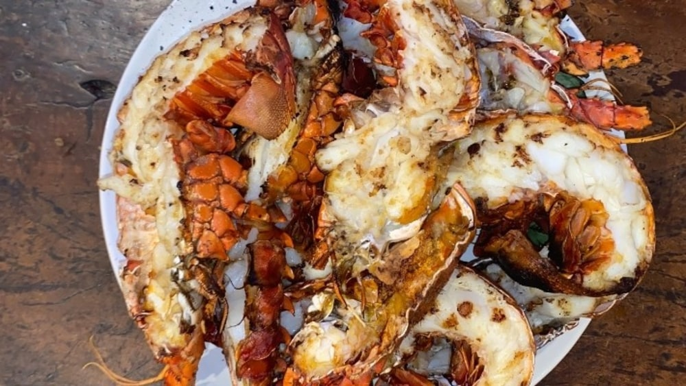 Image of Grilled California Spiny Lobster