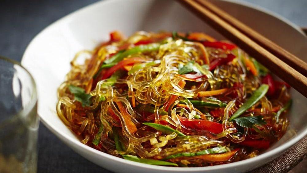 Image of Health-Helping Kelp Noodle Salad with Tamarind Dressing