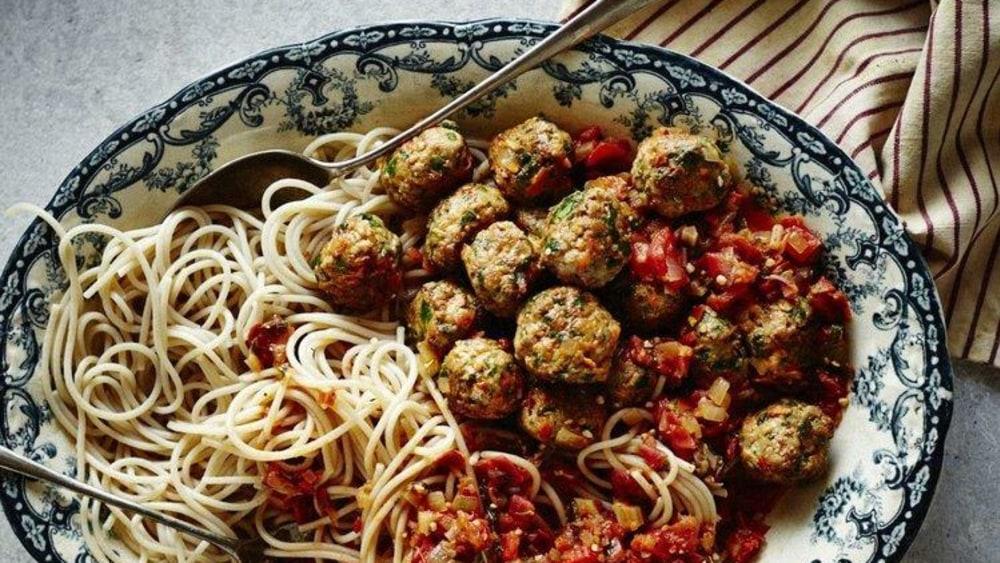 Image of High Fiber Turkey Meatballs