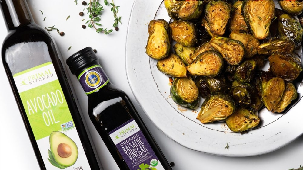 Image of Sweet and Sour Roasted Brussels Sprouts