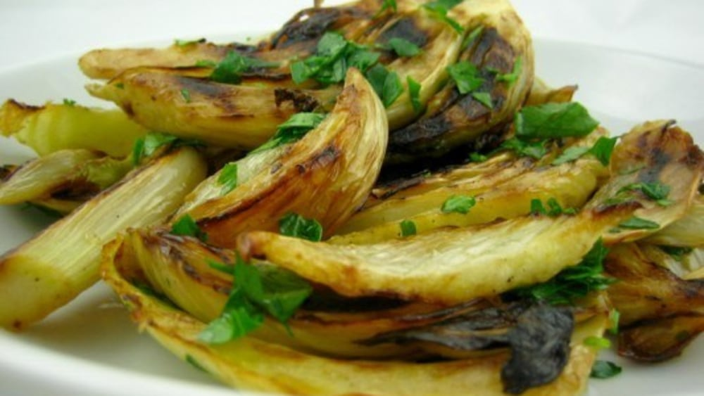 Image of Grilled Fennel With Lemon Oil
