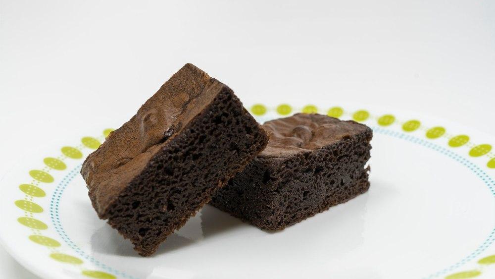 Image of Brownies fáciles de guisantes