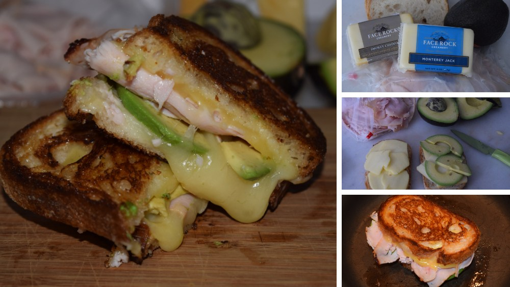 Image of Smokey Turkey & Avo Grilled Cheese
