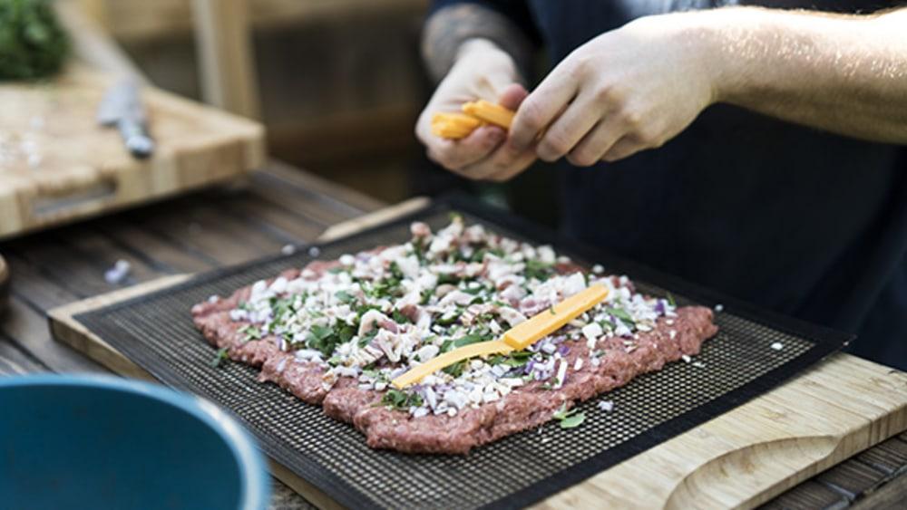 Image of Smoked Lumberjack Meat Log