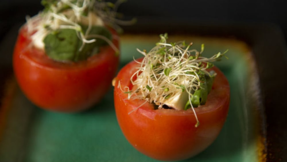 Image of Vegan Stuffed Caprese Salad