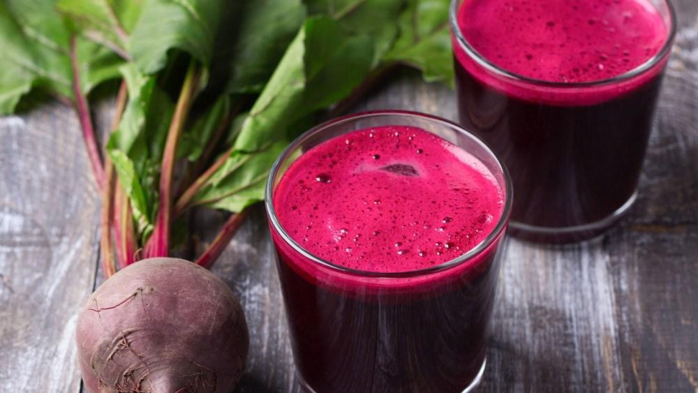 Image of Red Velvet Protein Juice | Raw Food Recipe