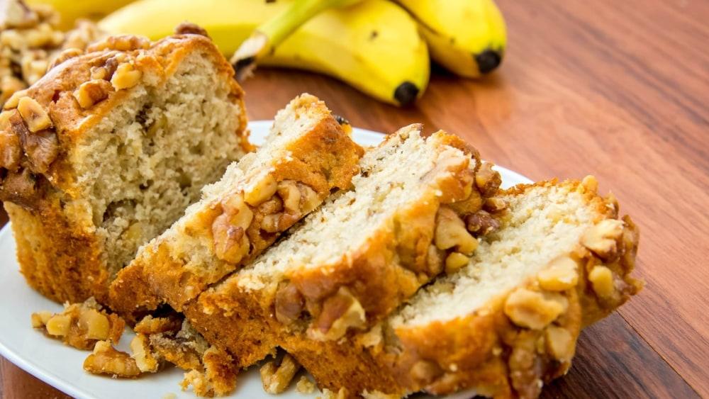 Image of Vegan Banana Maca Nut Bread Recipe
