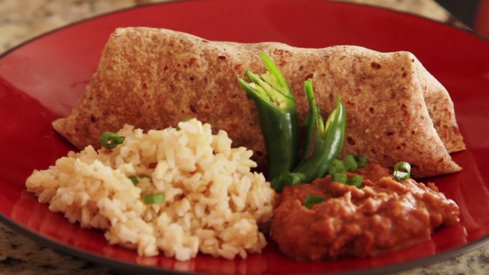 Image of Veggie Burrito | Vegan Recipe