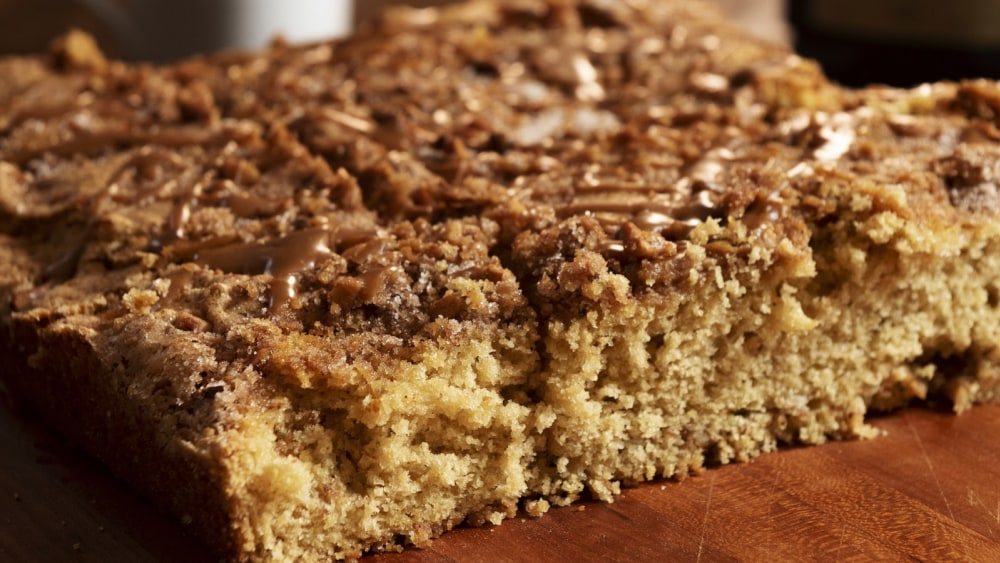 Kaldi's Coffee Cake - Coffee Cake Recipe with Coffee Mug, 26 years of baking and specialty coffee roasting experience in one delicious cake
