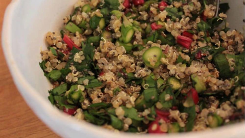 Image of Quinoa Veggie Salad | Vegan Recipe