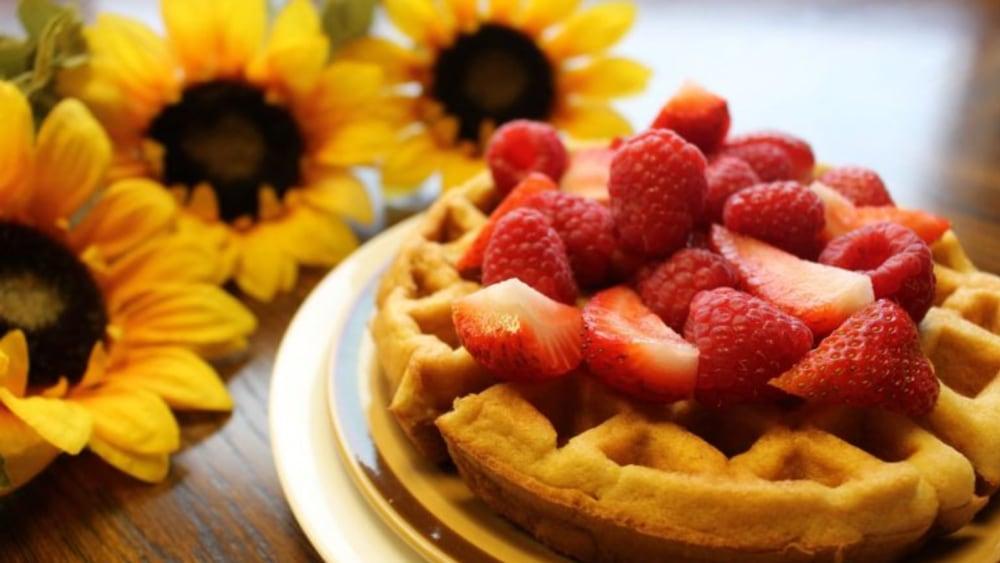 Gluten-Free Belgium Waffles