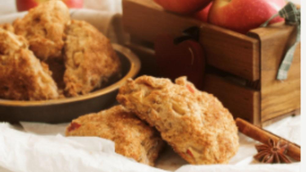 Gluten-Free Apple Scones