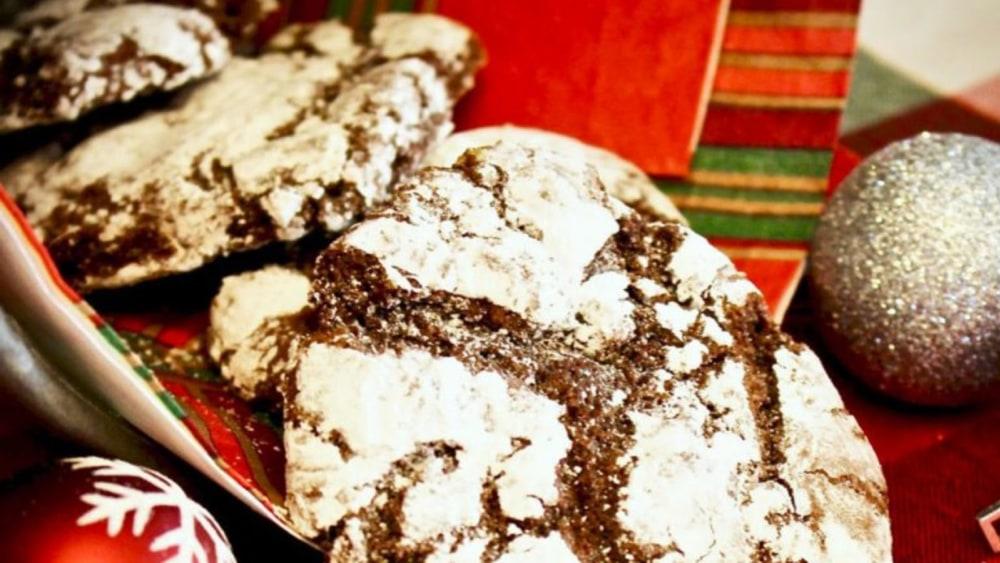 Gluten Free Chocolate Powdered Delights