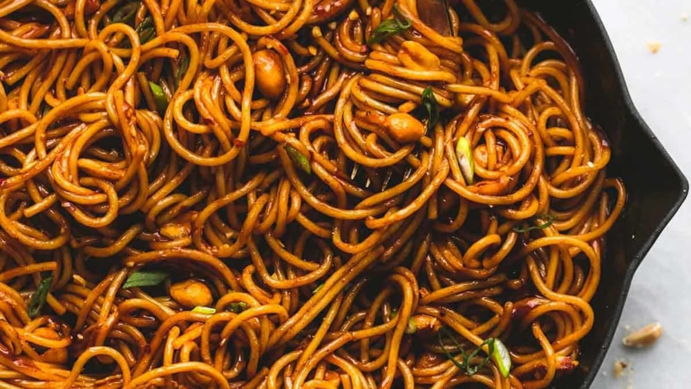 Image of Kung Pao Noodles - Easy Recipe