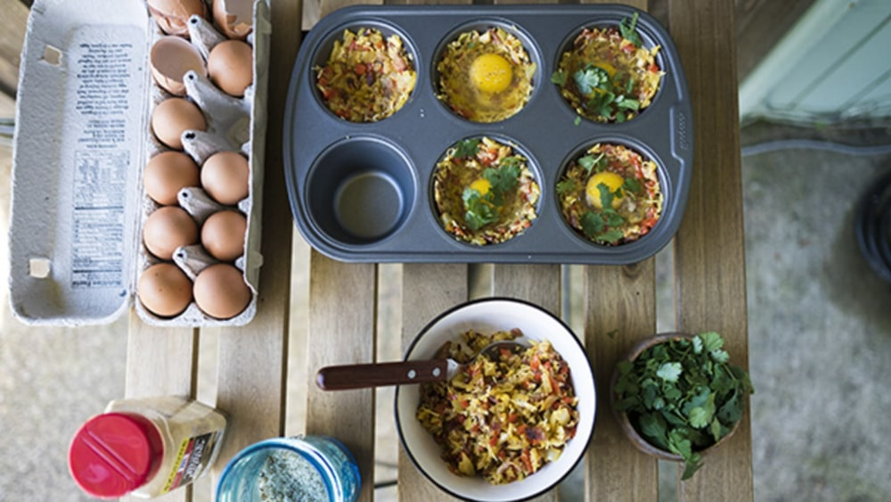 Image of Breakfast Bacon and Egg Bites