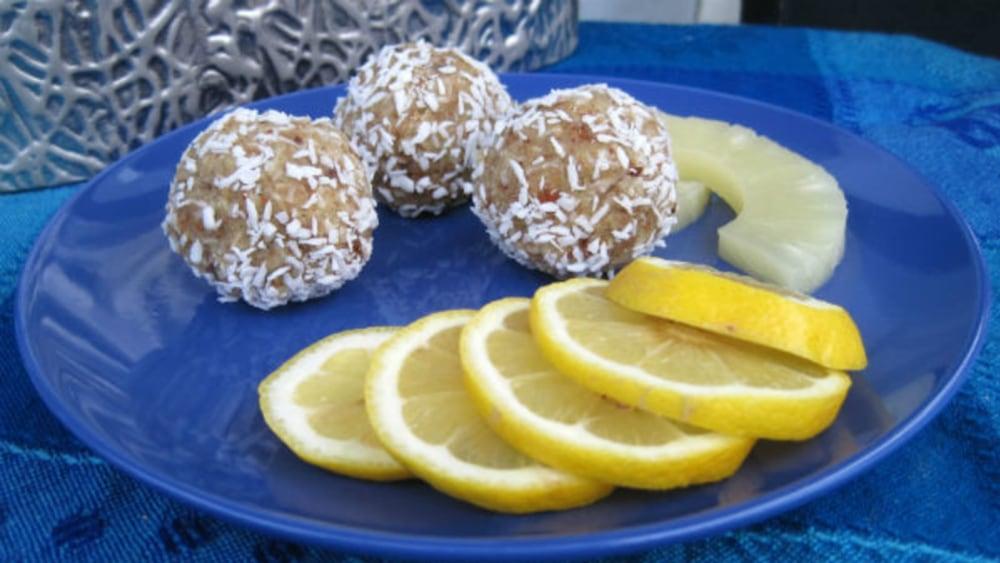 Image of Pineapple & Coconut Protein Balls Recipe