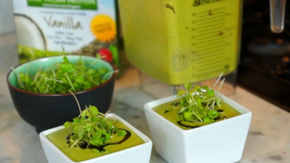 Image of Vegan Cream of Asparagus Soup Recipe