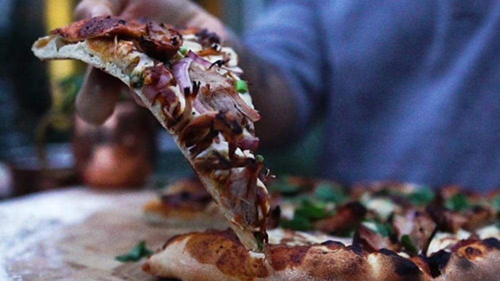 Image of Wood-Fired BBQ Pulled Pork Pizza