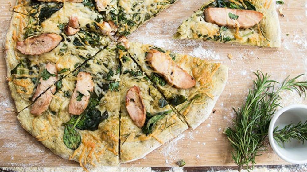 Image of Pesto Pizza Pie