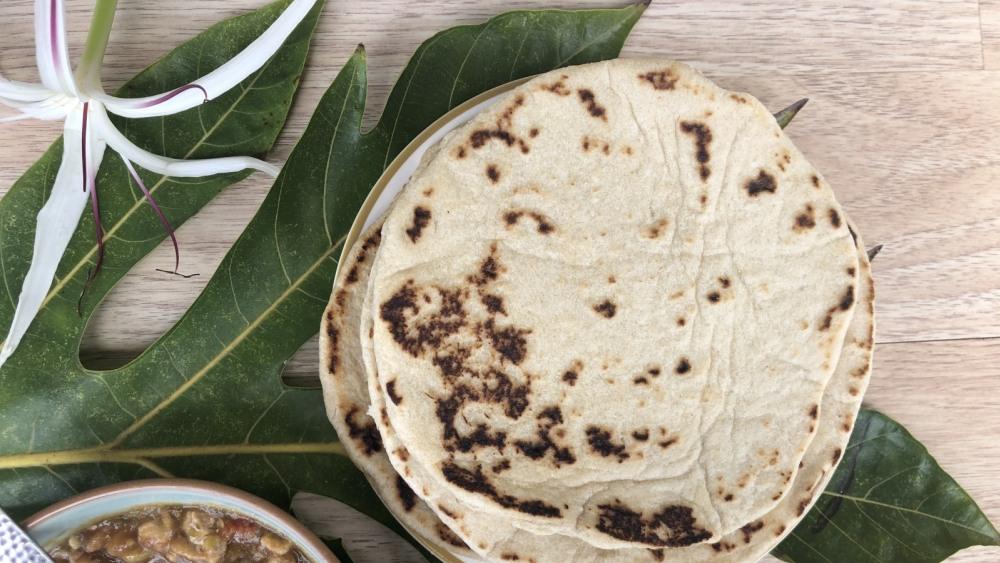 breadfruit flour tortilla recipe