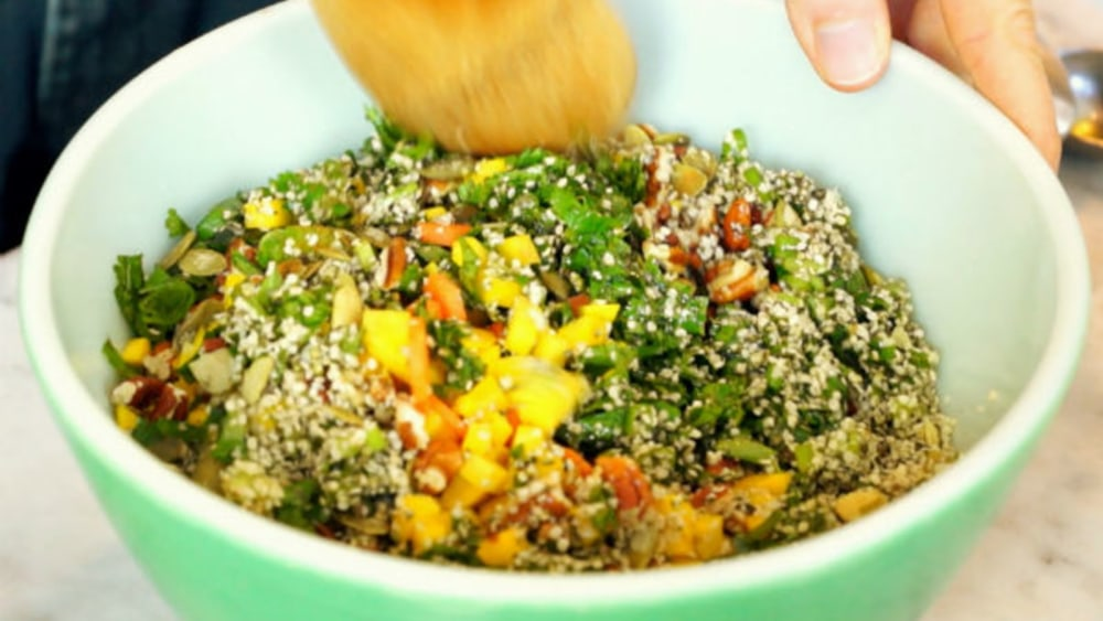 Image of Alkalizing Pear Pecan Salad
