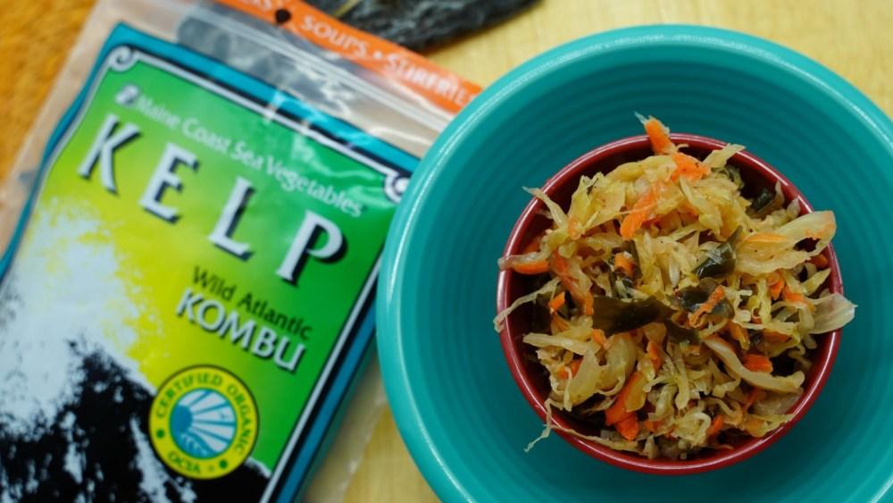 Fermented Seaweed Salad Kelp Kraut
