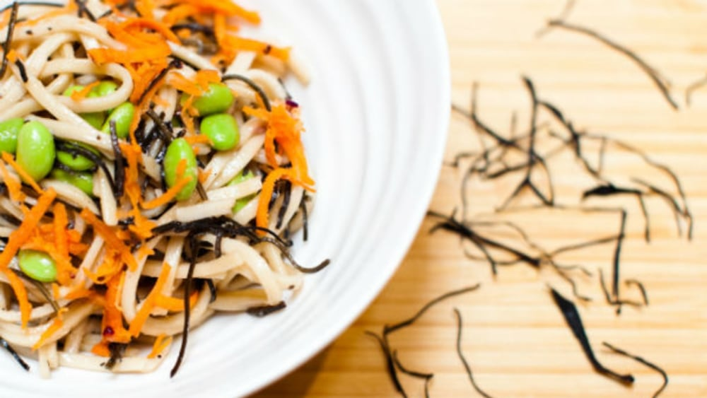 Image of Arame Soba Noodle Salad