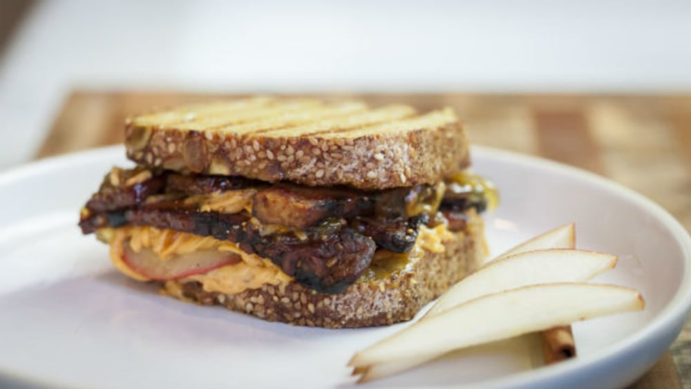 Image of Fancy Vegan Grilled Cheese Sandwich
