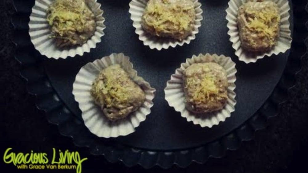 Image of Anti-Stress Vegan Lemon Protein Squares