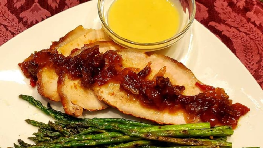 Image of Spicy Grilled Asparagus