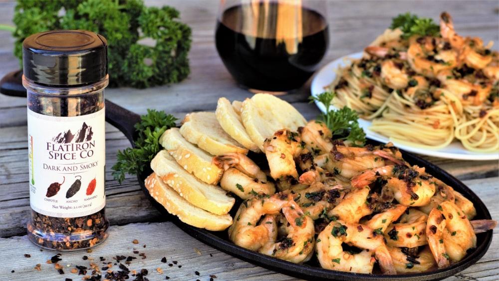Image of Dark & Smoky - Shrimp Scampi