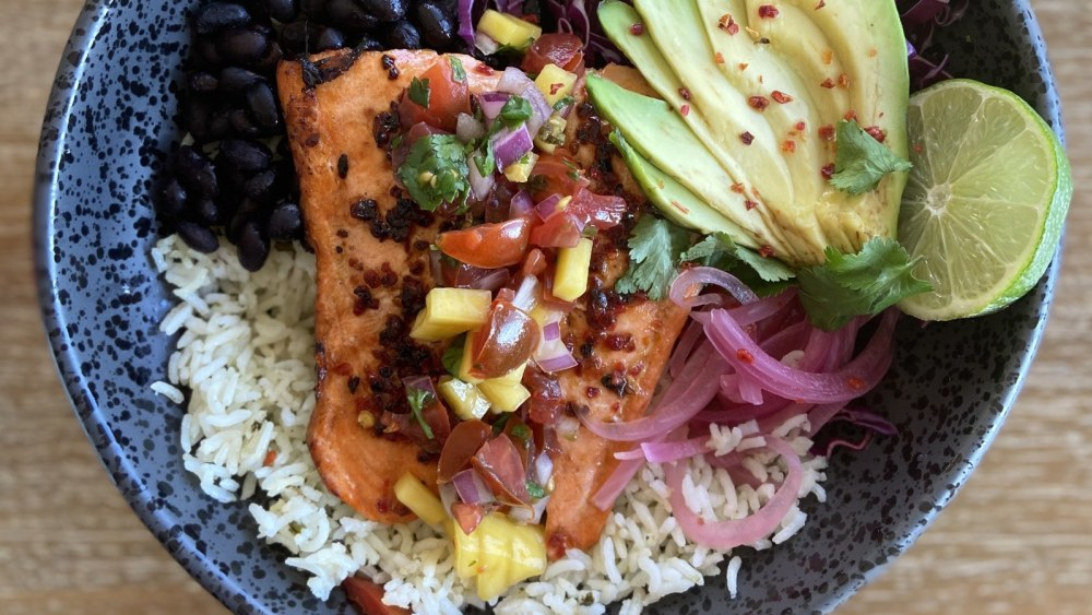 Image of SWEET HEAT - SPICY SALMON BOWL