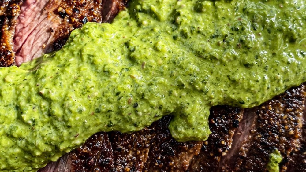 Image of Hatch Green Chile and Cilantro Chimichurri