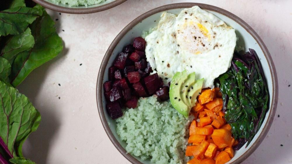 Blood-Nourishing Beet Bowl | 补血烤甜菜根碗