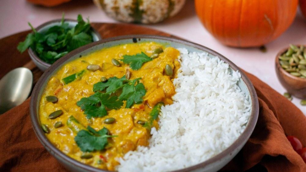 Warming Pumpkin Curry | 暖体南瓜咖喱