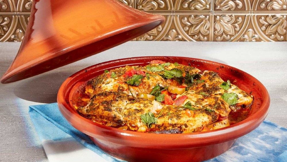 Image of Moroccan Style Fish Tagine
