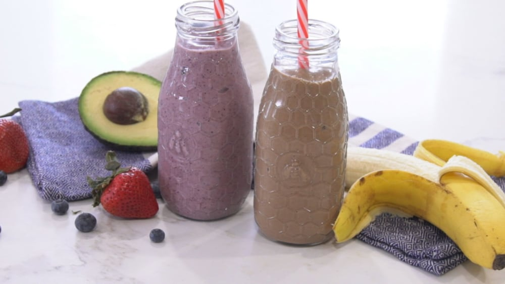 Image of Chocolate Covered Banana Nut Butter Shake