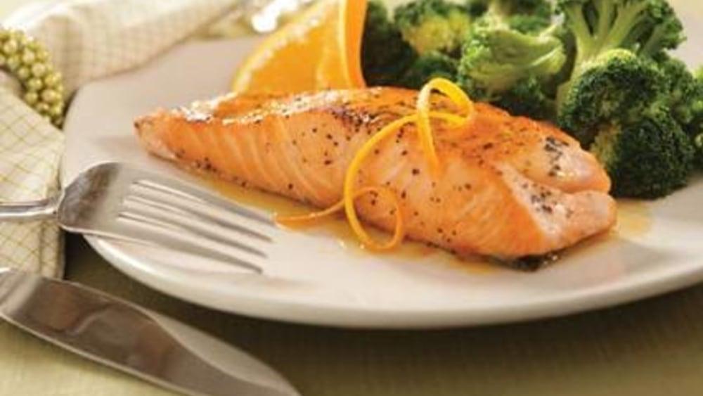 Image of Citrus Ginger Glazed Salmon