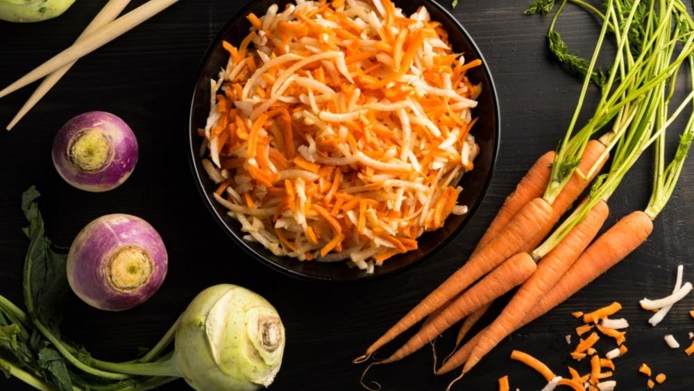 Image of Crispy Crunchy Root Salad