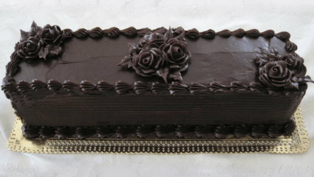 Image of Decadent Gluten-Free Layered Chocolate Mousse Cake