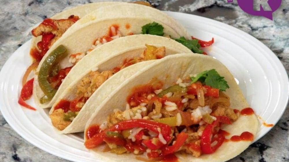 Image of Easy Chicken Fajitas