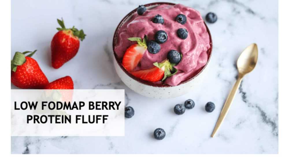 Image of LOW FODMAP BERRY PROTEIN FLUFF