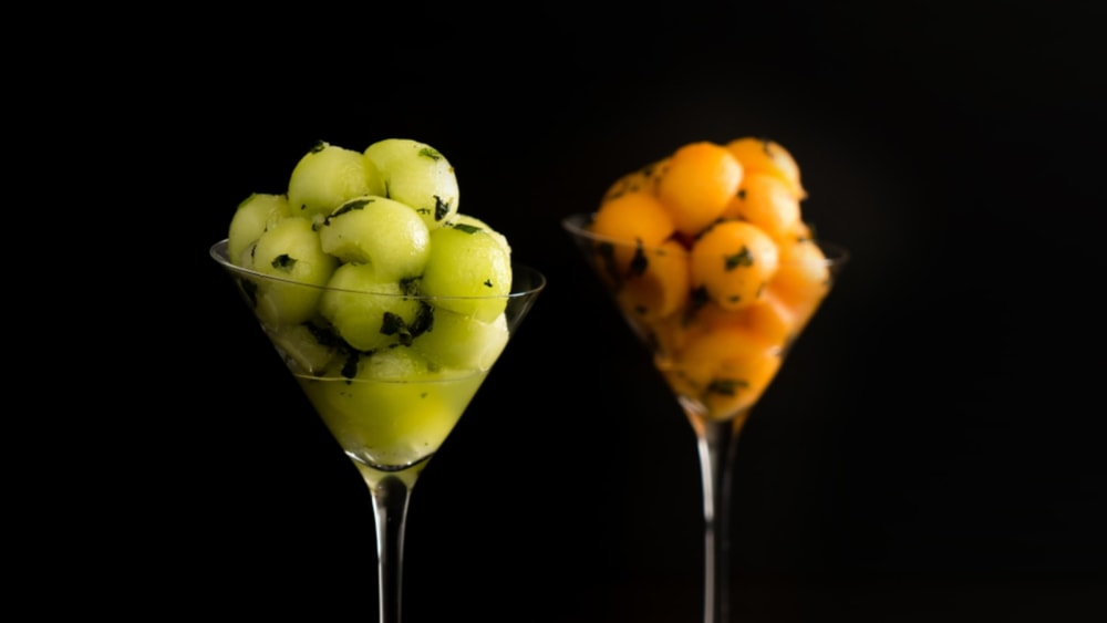 Image of Minted Melon Balls