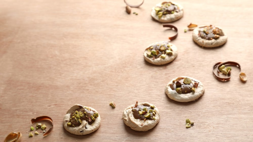 Image of Pistachio-Topped Cookies