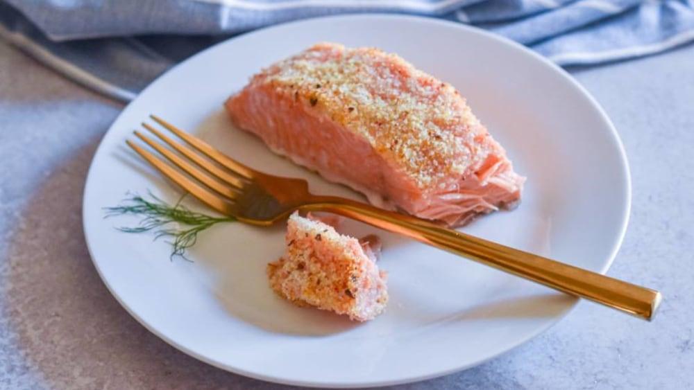 Image of Potato Crusted Salmon