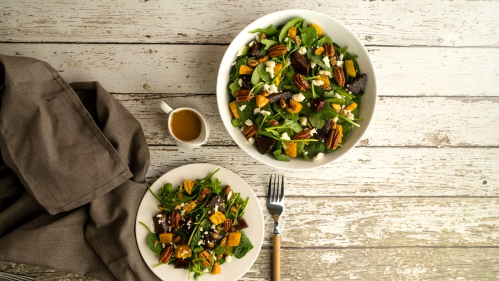 Image of Roasted Beet Salad with Nuts