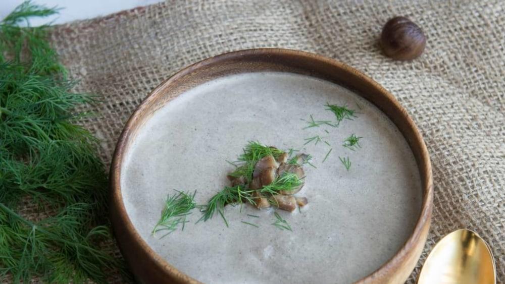 Image of Roasted Chestnut Soup