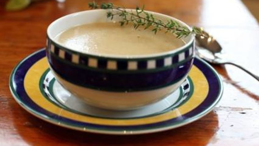 Image of Roasted Garlic and Potato Soup
