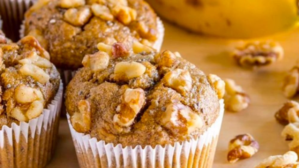 Image of Sugar-Free Banana Quinoa Muffins