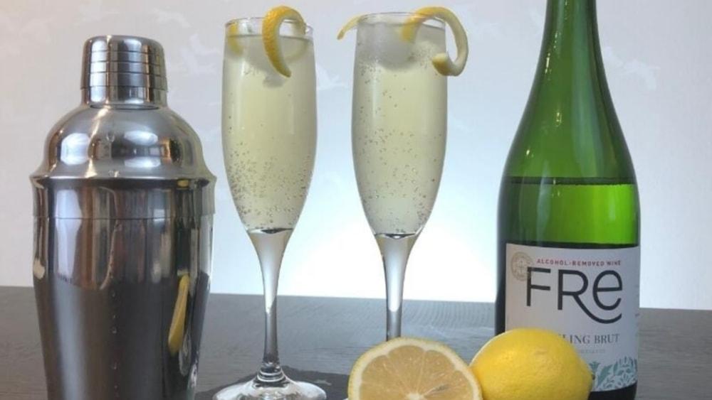Non-Alcoholic French 75 Recipe